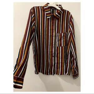 Forever 21 Striped shirt M